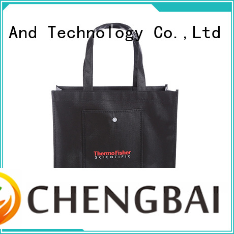 Chengbai Best non woven shopping bag buyer awarded supplier for promotion