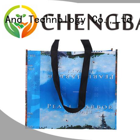 Chengbai ultrasonic custom non woven bags bulk purchase for advertising