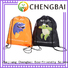Wholesale polyester shopping bag gift factory for advertising