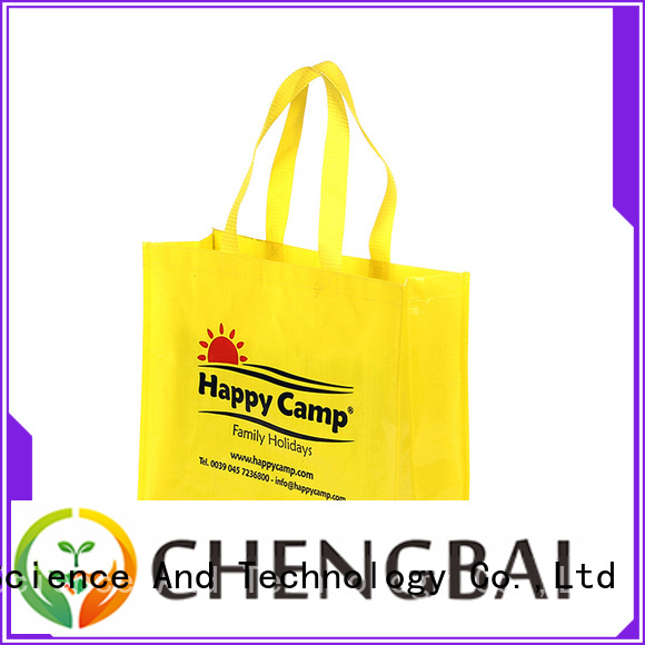 Chengbai eco-friendly wholesale pp woven bags company for packing