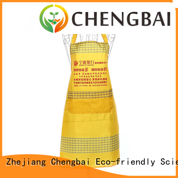 Chengbai apron foldable shopping bag Suppliers for daily necessities