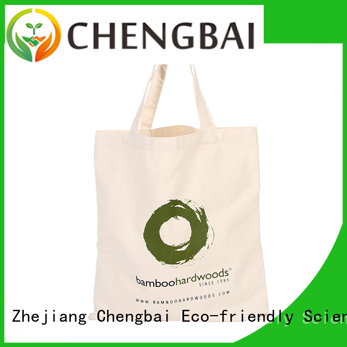 Chengbai cotton cotton bag for business for packing