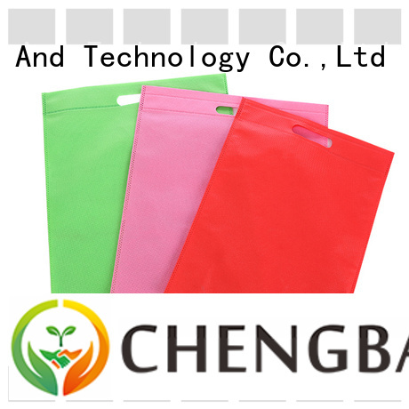 Chengbai print woven shopping bags wholesale wholesale for shopping
