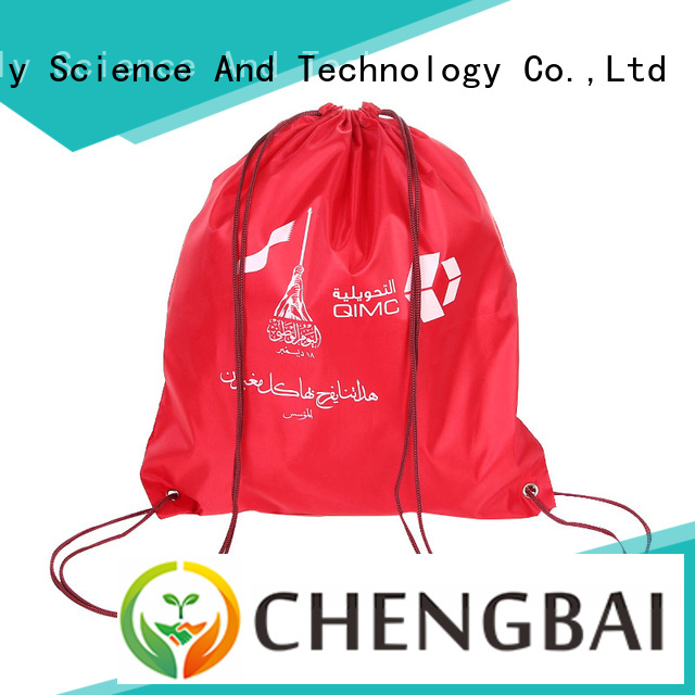 Chengbai custom polyester carry bags factory directly sale for shopping