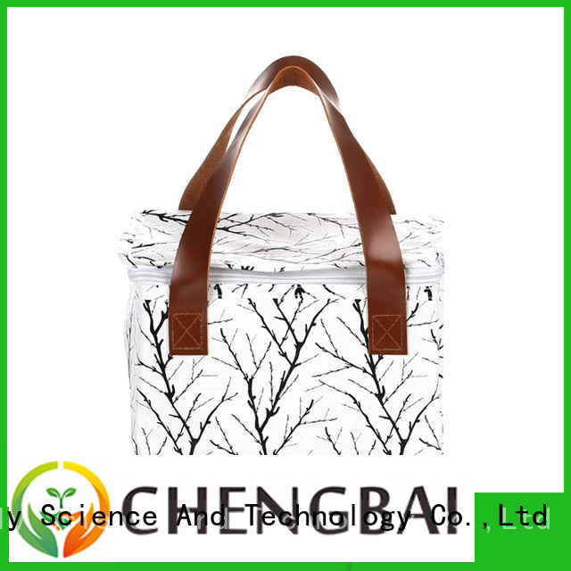 Chengbai low moq lunch cooler bag source now for daily necessities