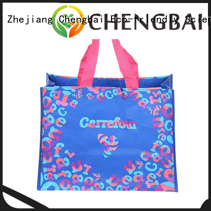 Wholesale pp laminated pp woven bags design OEM ODM for daily necessities