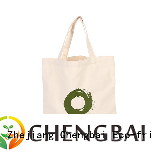 Chengbai custom custom canvas tote bags factory for daily necessities