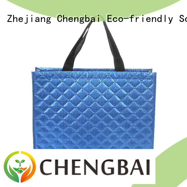 Chengbai fashion non woven carry bags price wholesale for packing