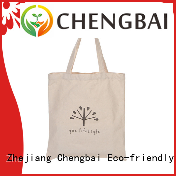 Chengbai custom canvas handbags Suppliers for gift