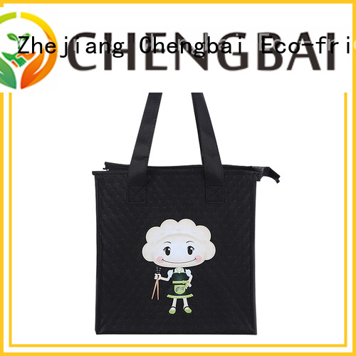 Chengbai colored folding cooler bag fast delivery for packing