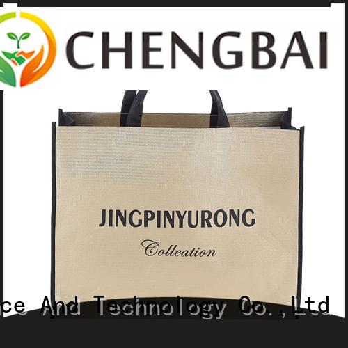 Chengbai Wholesale poly woven sacks request for quote for promotion