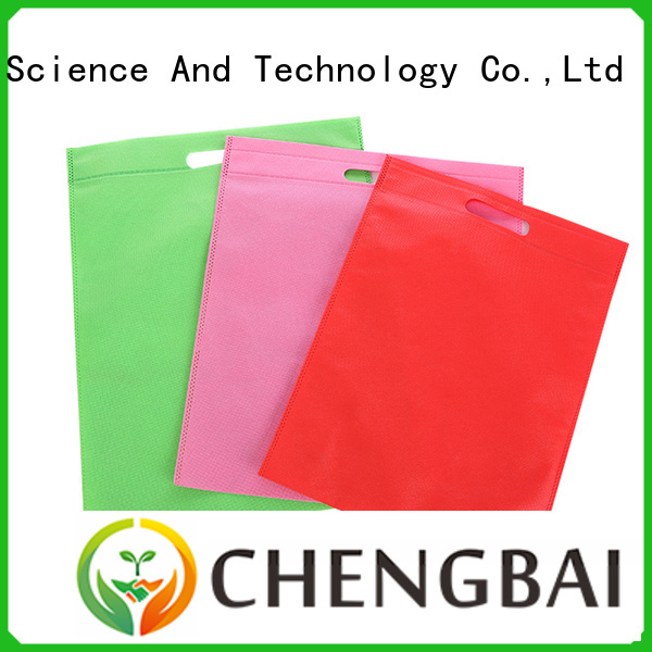 Chengbai Latest non woven bag printing bulk purchase for shopping