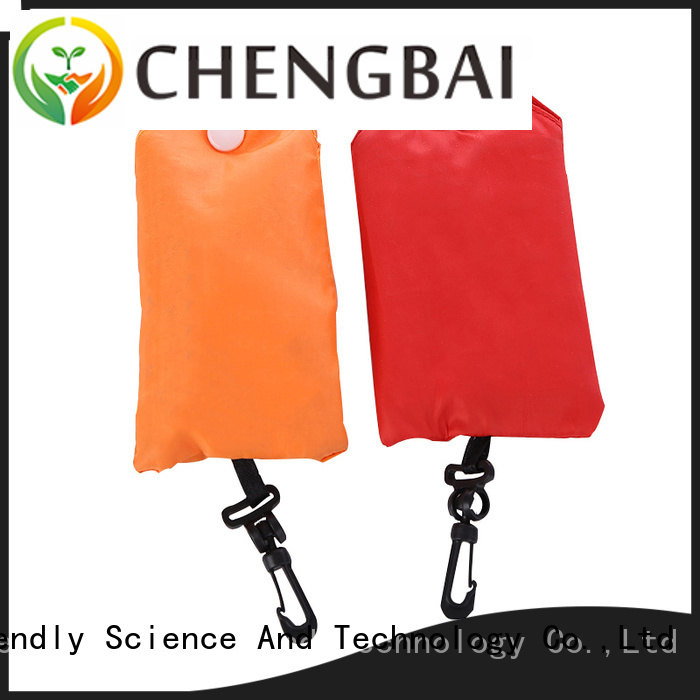 Chengbai printing trendy reusable shopping bags Suppliers for daily necessities