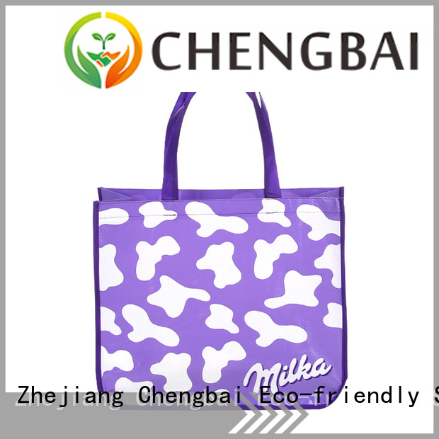Chengbai New non woven polypropylene tote bags request for quote for shopping