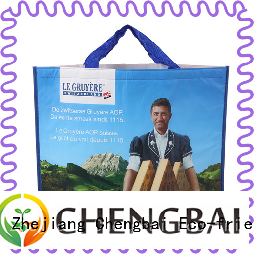 Chengbai logo carry cooler bag one-stop service supplier for packing