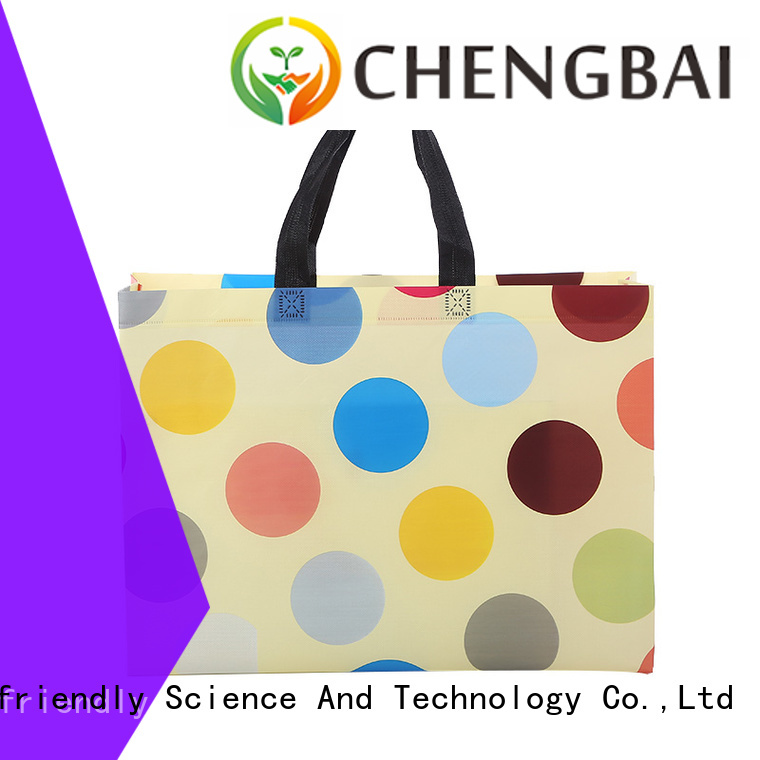 Chengbai Custom non woven bag with zipper awarded supplier for packing