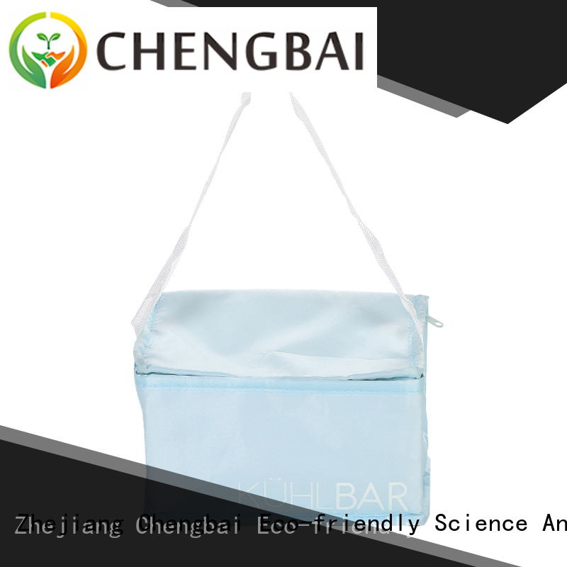 Chengbai print waterproof cooler bag source now for daily necessities