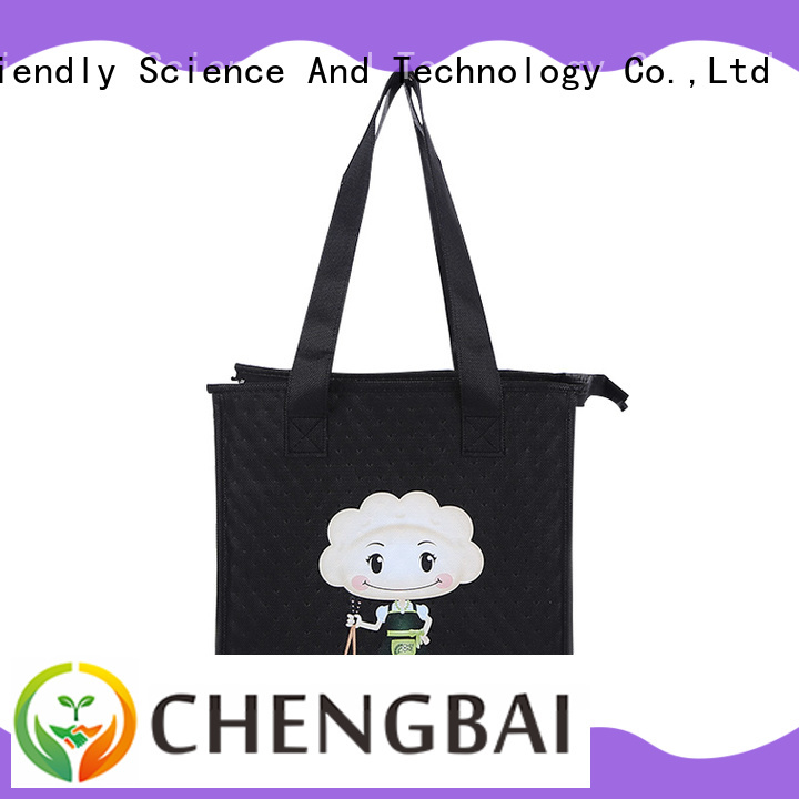 selected material portable cooler bag logo one-stop service supplier for daily necessities
