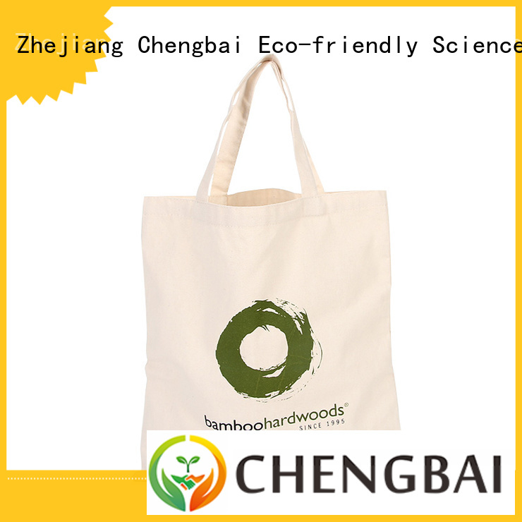 Chengbai fashion cotton bags wholesale factory for packing