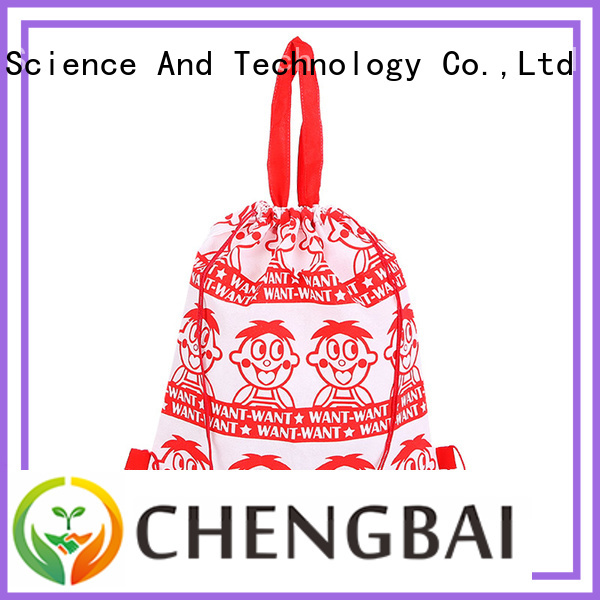 Zhejiang polyester shopping bags size from China for daily necessities