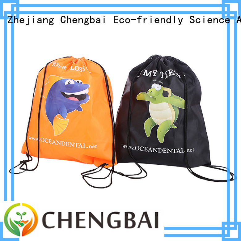 Chengbai New polyester shopping bags design for shopping