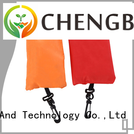 Chengbai polyester environmentally friendly shopping bags trendy designs for daily necessities