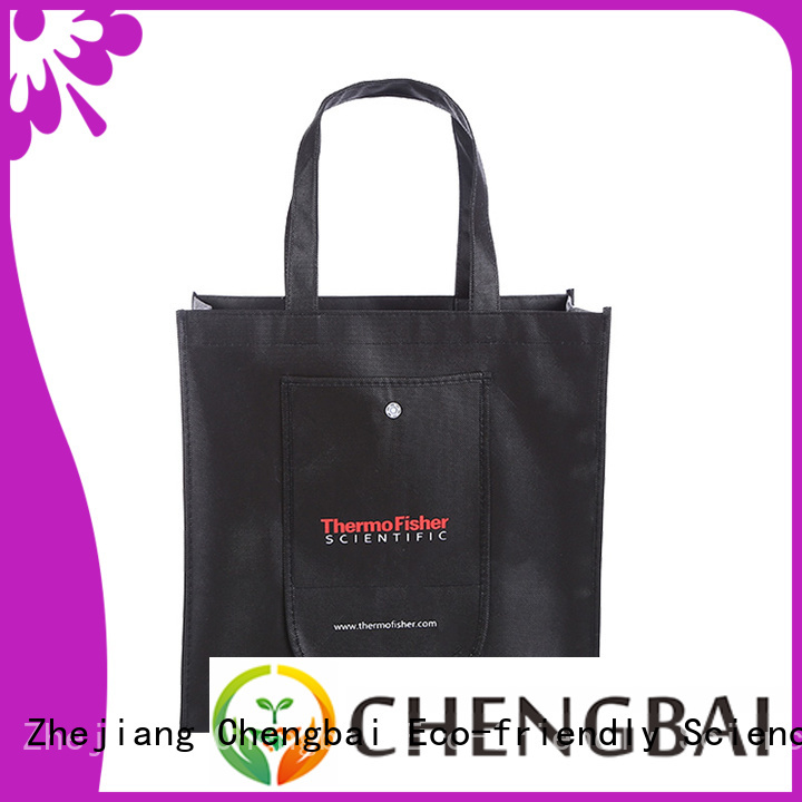 Chengbai bags custom non woven tote bags factory for packing
