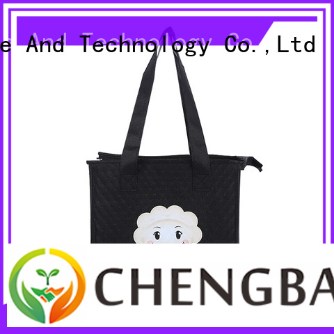 Chengbai quality insulated cooler tote bags fast delivery for daily necessities