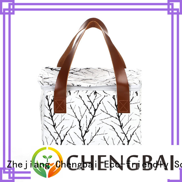 Chengbai moq food cooler bag source now for packing