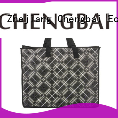 Chengbai Wholesale custom printed shopping bags trendy designs for packing