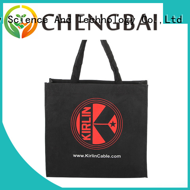 Chengbai bags plain cotton bags company for packing