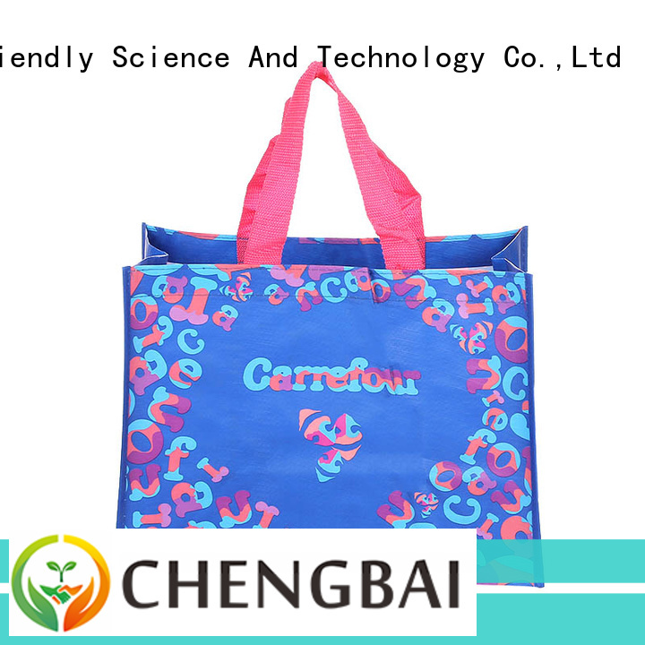 eco-friendly pp laminated pp woven bags recycled great deal for daily necessities