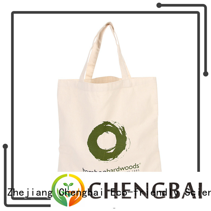Chengbai hot selling cotton cloth bags Suppliers for daily using
