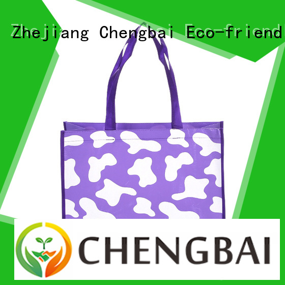 Chengbai durable ban on non woven bags request for quote for promotion