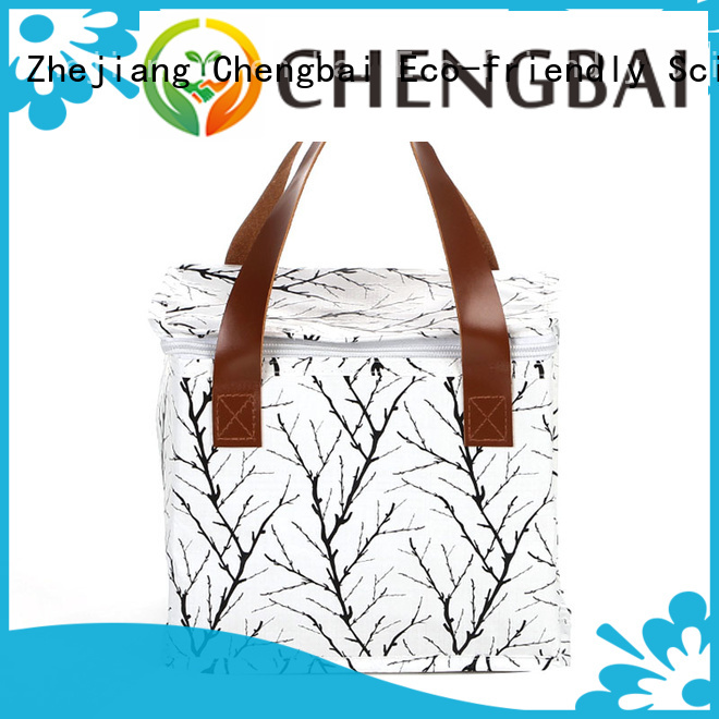 Chengbai moq waterproof cooler bag source now for daily necessities