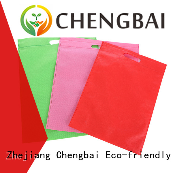 D-cut design different size customized non woven tote bag non woven fabric shopping bags