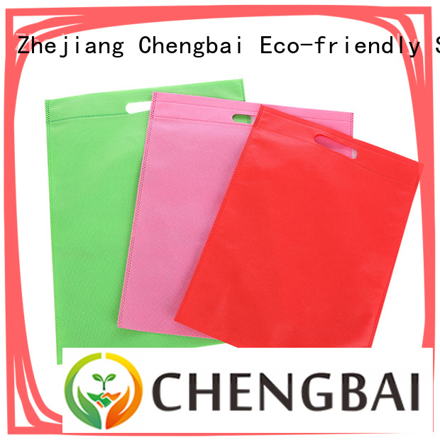 Chengbai waterproof black woven bag awarded supplier for packing