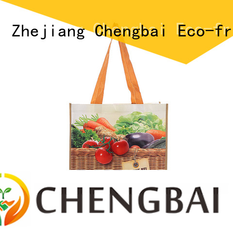 Chengbai waterproof pp woven bags china company for packing