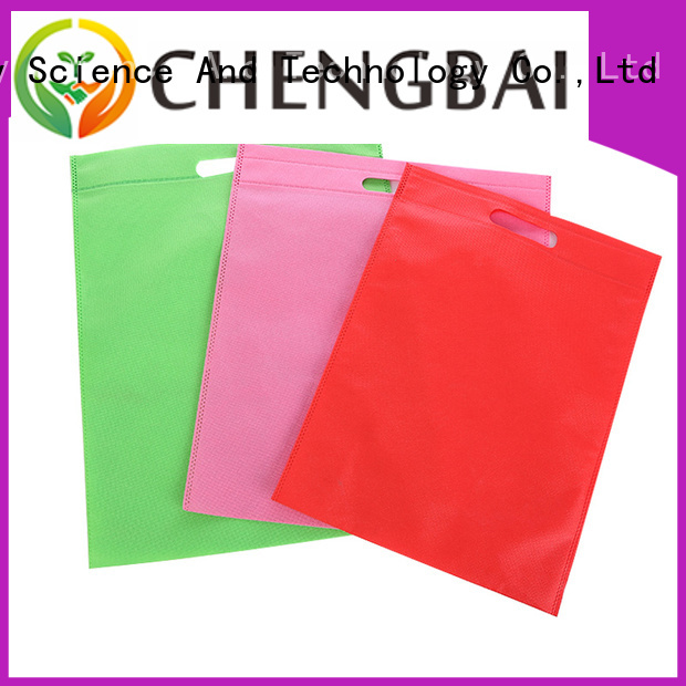 fabric non woven cloth bags shopping for packing Chengbai