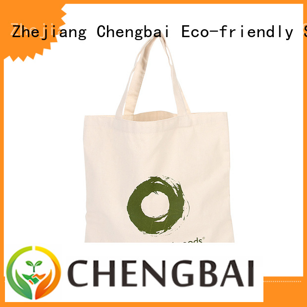 fashion cotton shopping bag tote win-win cooperation for daily using