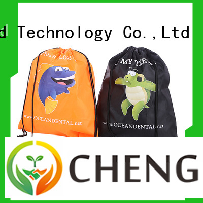 Chengbai black nylon vs polyester bags personalized for daily necessities
