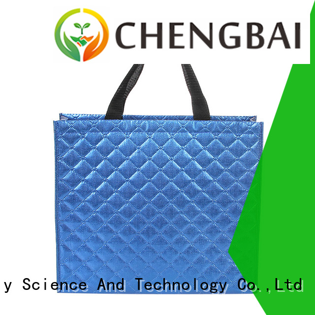 New woven shopping bag customized awarded supplier for advertising