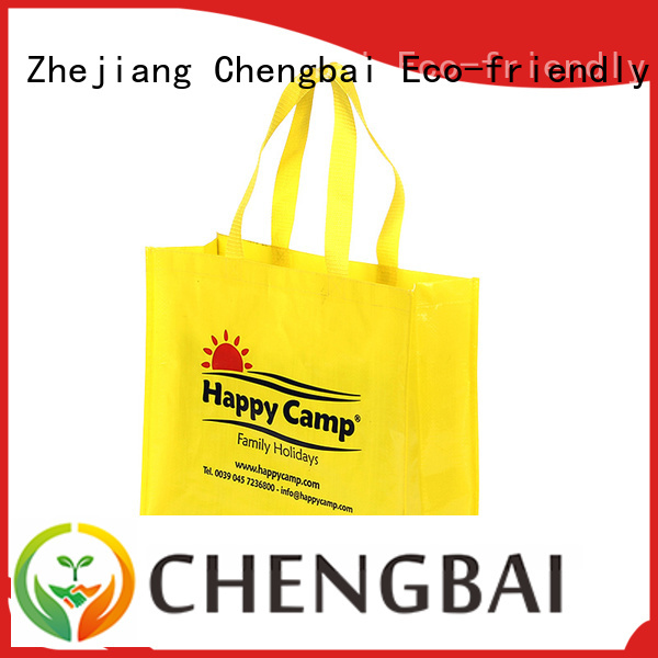 eco-friendly pp woven shopping bag design factory for packing