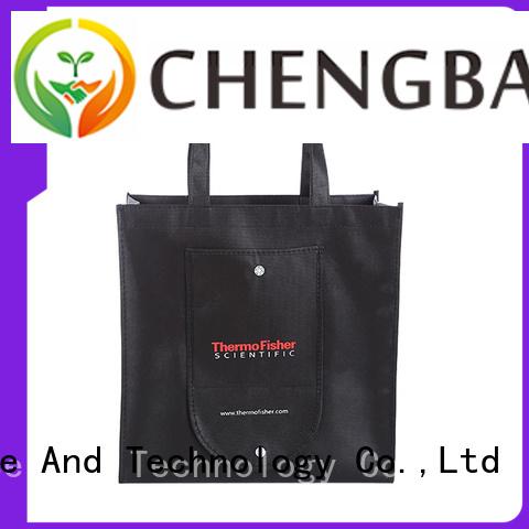 Custom non woven polypropylene shopping bags metallic wholesale for advertising