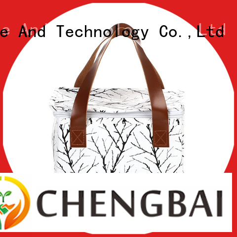 Chengbai Custom canvas cooler bag fast delivery for packing