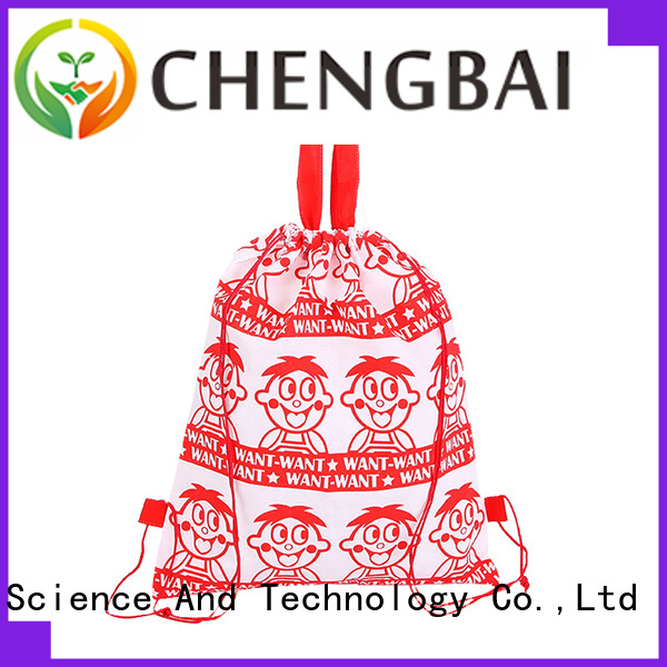 Chengbai Latest polyester reusable bags for business for daily necessities