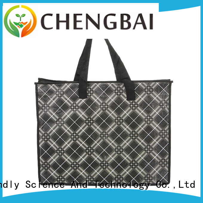 Chengbai tote non woven apron competitive price for daily necessities
