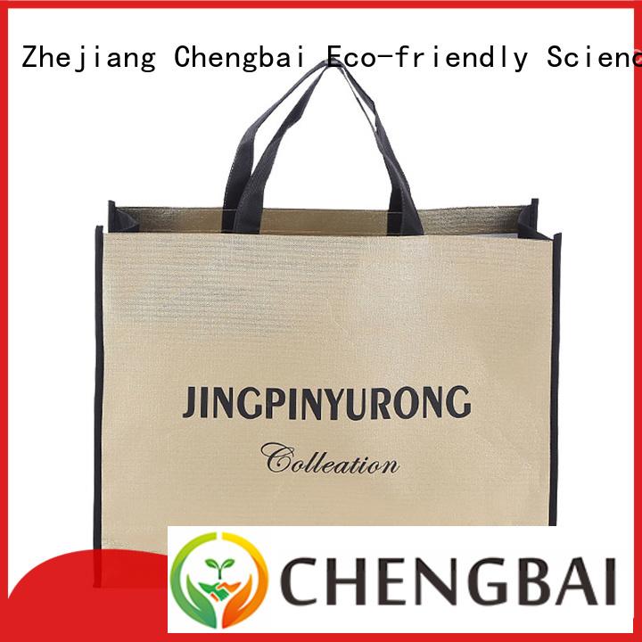 Chengbai non eco friendly non woven bag request for quote for shopping