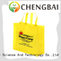 Reusable custom shopping bags pp woven bag advertising tote bag pp laminated woven bag