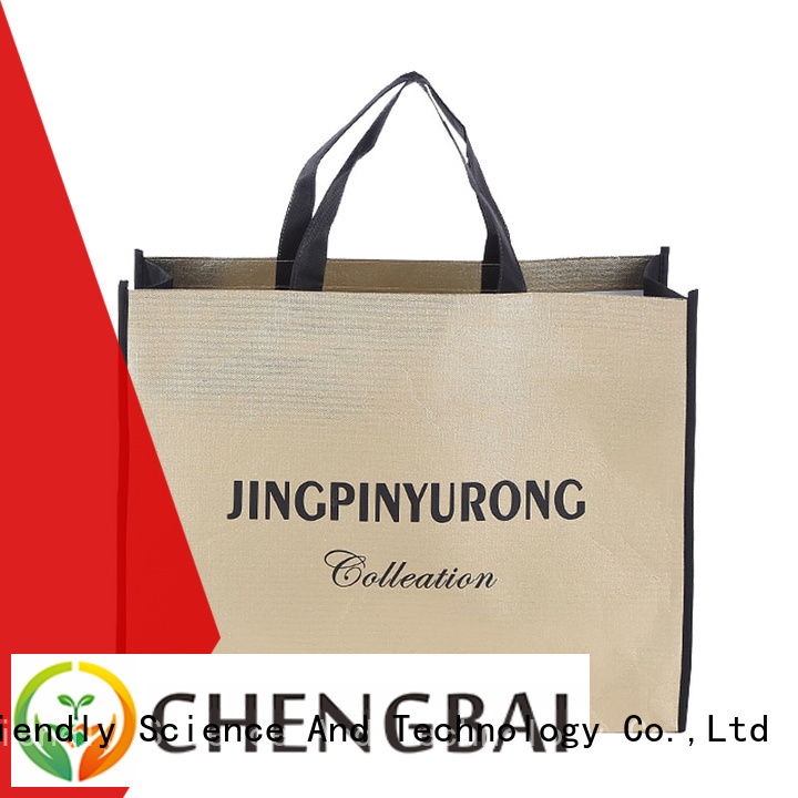 portable non woven carry bag design printing wholesale for promotion
